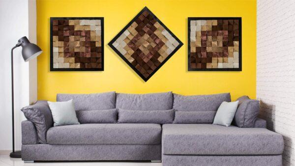 Decoratiune perete 3D VISION