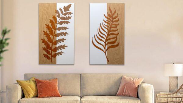 Decoratiune perete LEAVES
