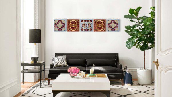 Decoratiune perete DUBLE RINGS