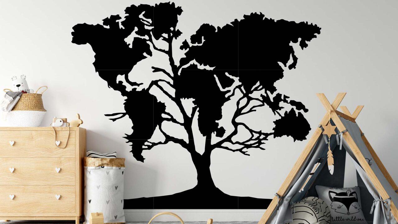 Copacul Vietii Harta Lumii